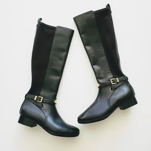Michael Kors Tall  Black Boots-Size 8